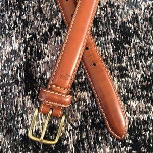 Ralph Lauren Polo leather belt Sz 42